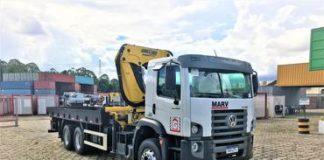 Caminhões munck recebem transmissão automática Allison